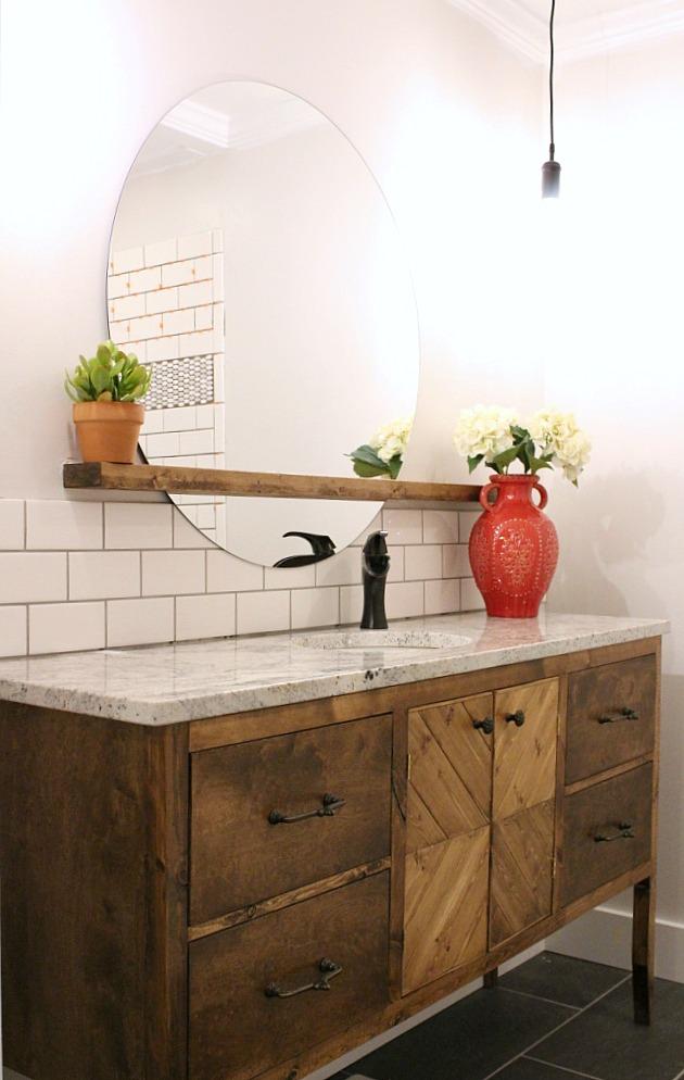 8. DIY Bathroom Vanity