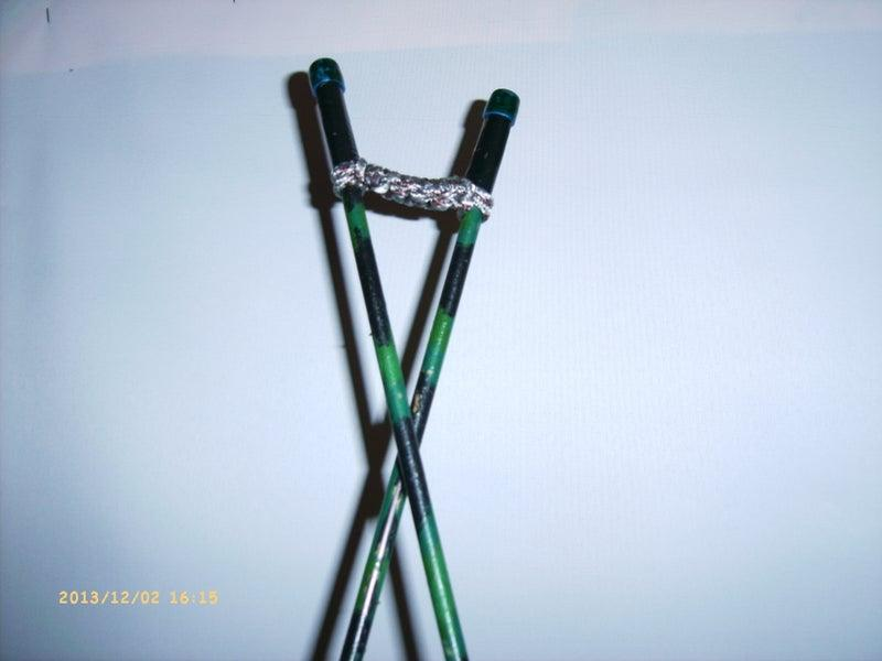 8. DIY Shooting Stick