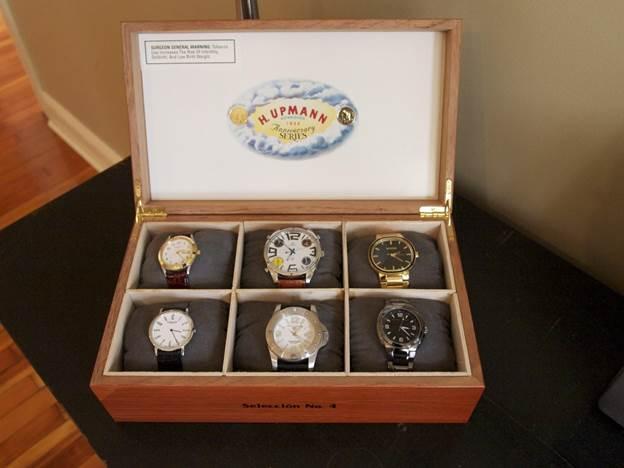 8. DIY Watch Box