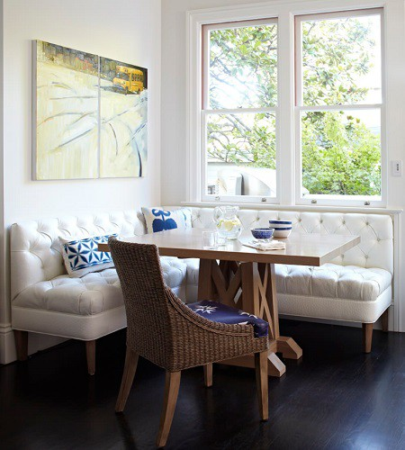 9. Breakfast Nook On A Budget