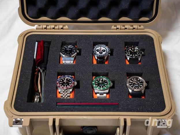 9. DIY Watch box with Pelican Case