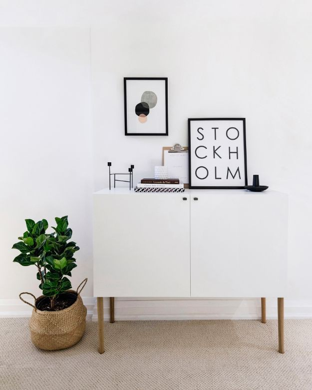 9. Scandinavian Sideboard DIY