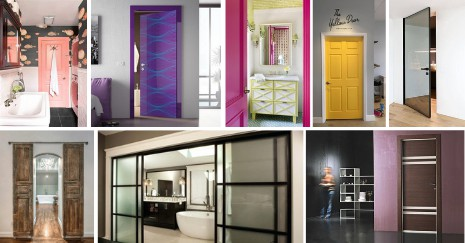 Bathroom Door Ideas