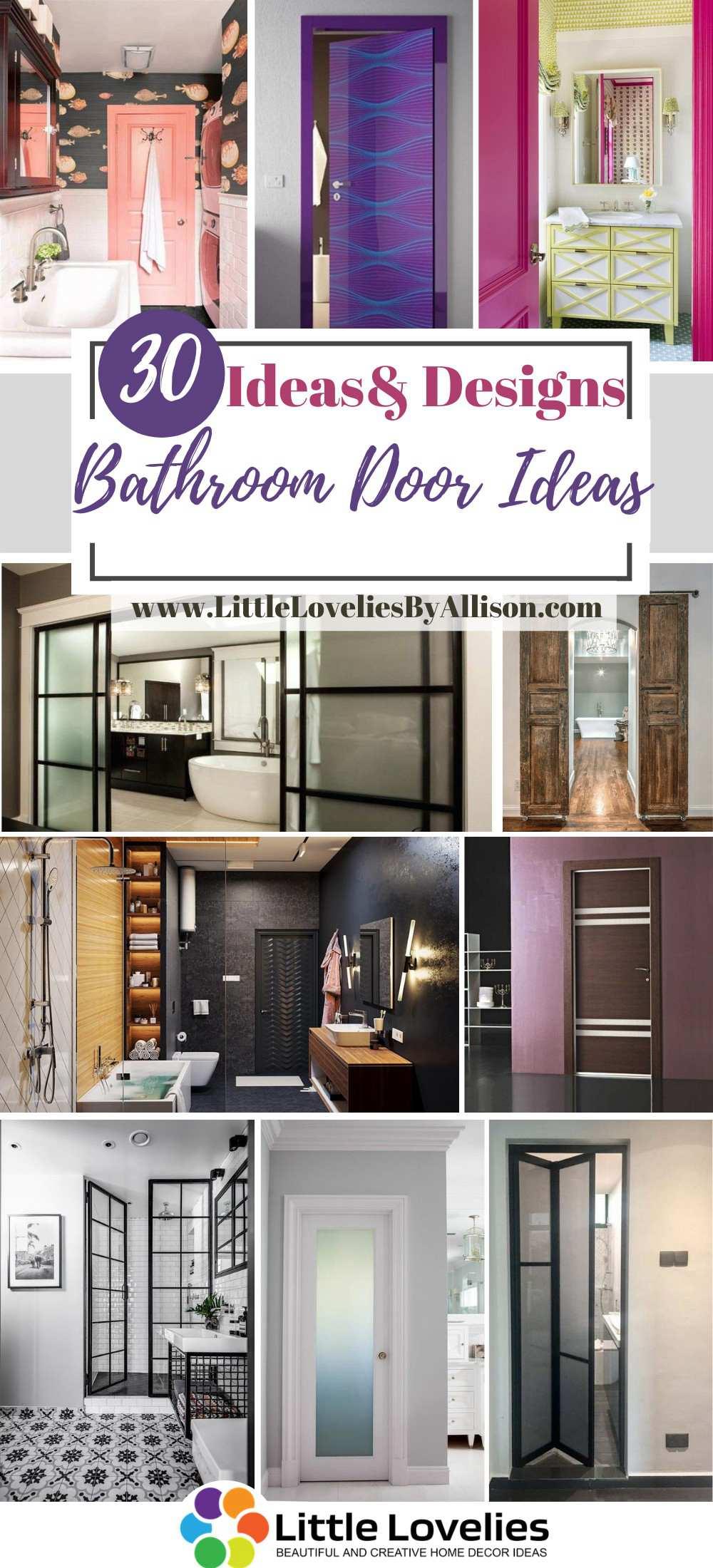 Best Bathroom Door Ideas
