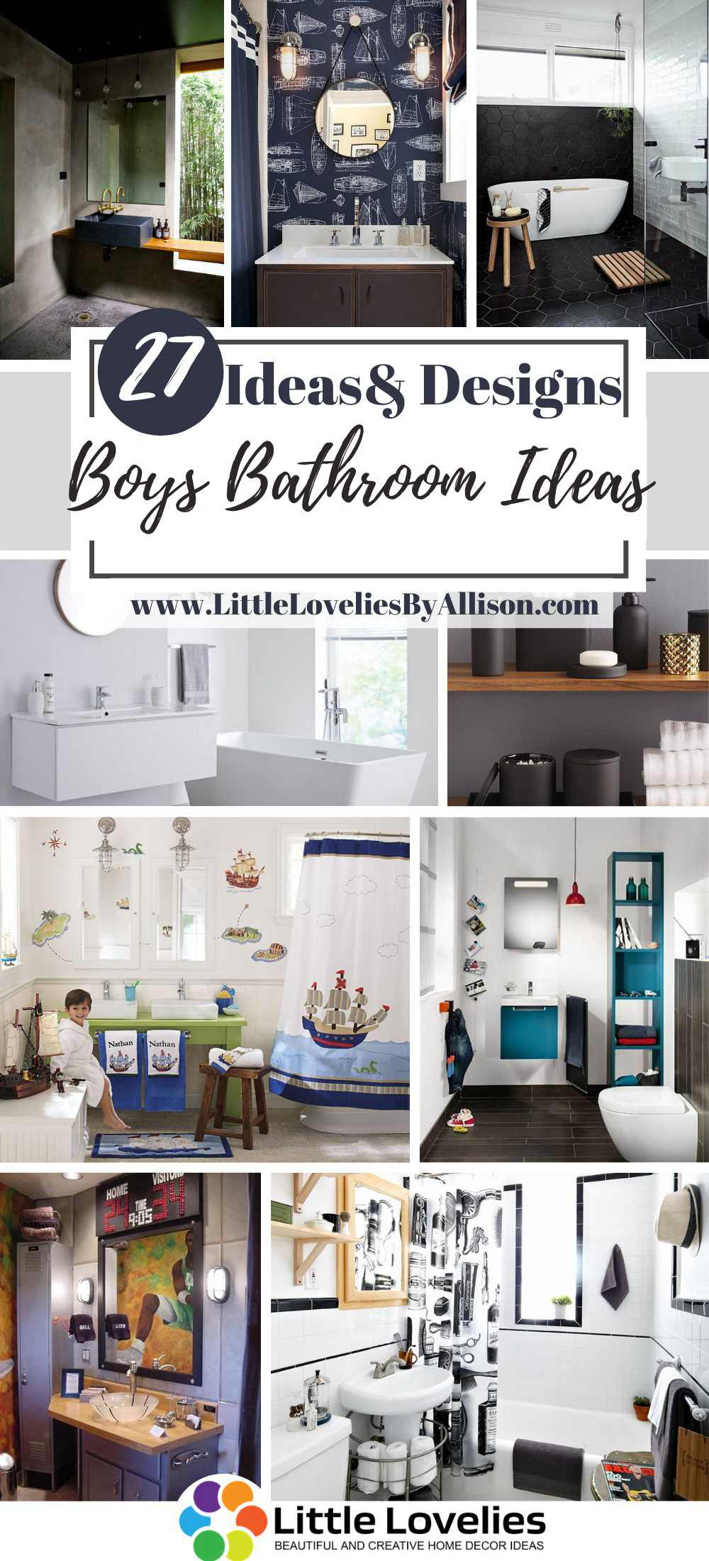 Best Boys Bathroom Ideas