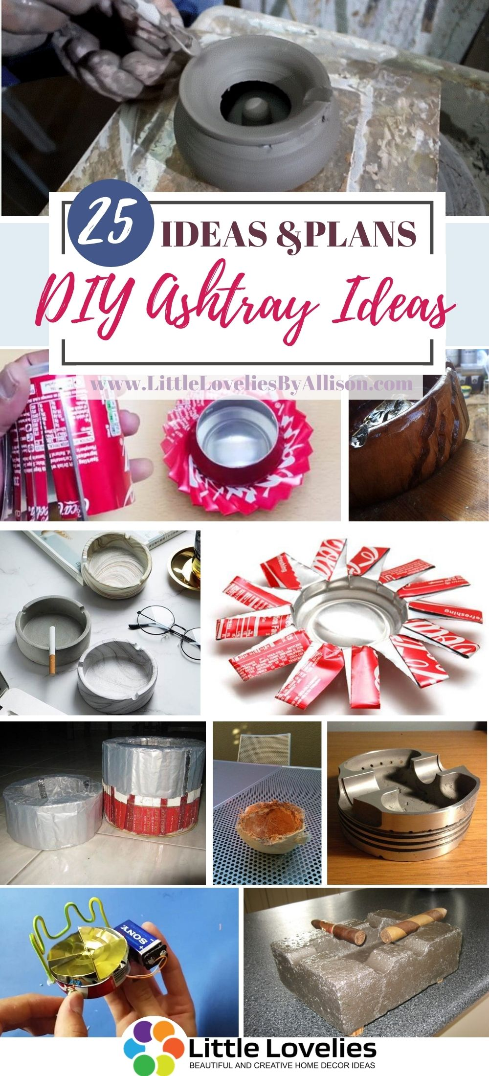 Best DIY Ashtray Ideas