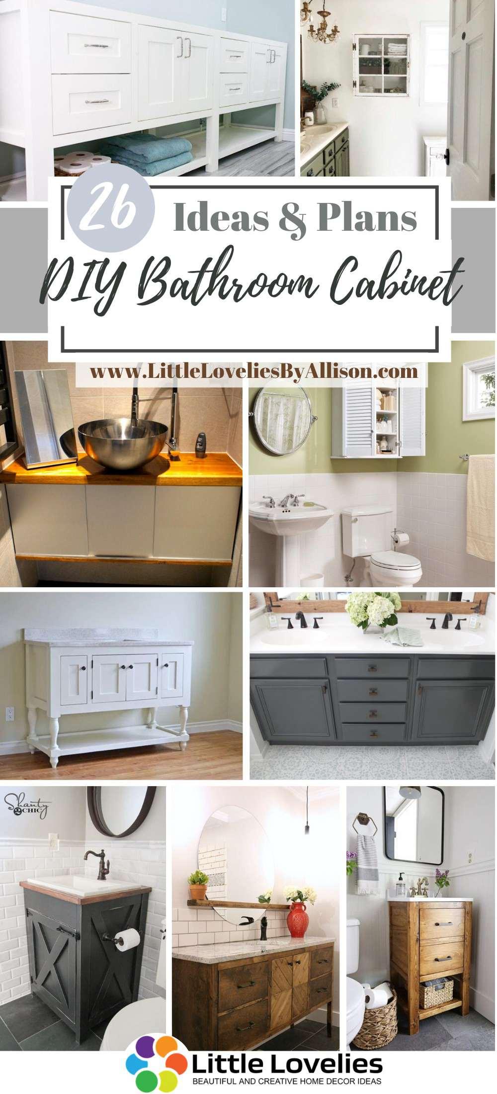 Best DIY Bathroom Cabinet