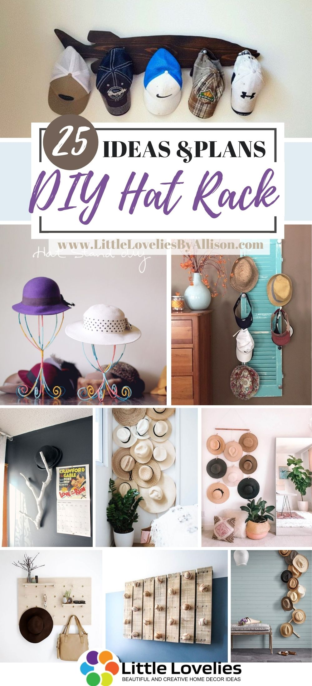 Best DIY Hat Rack Projects