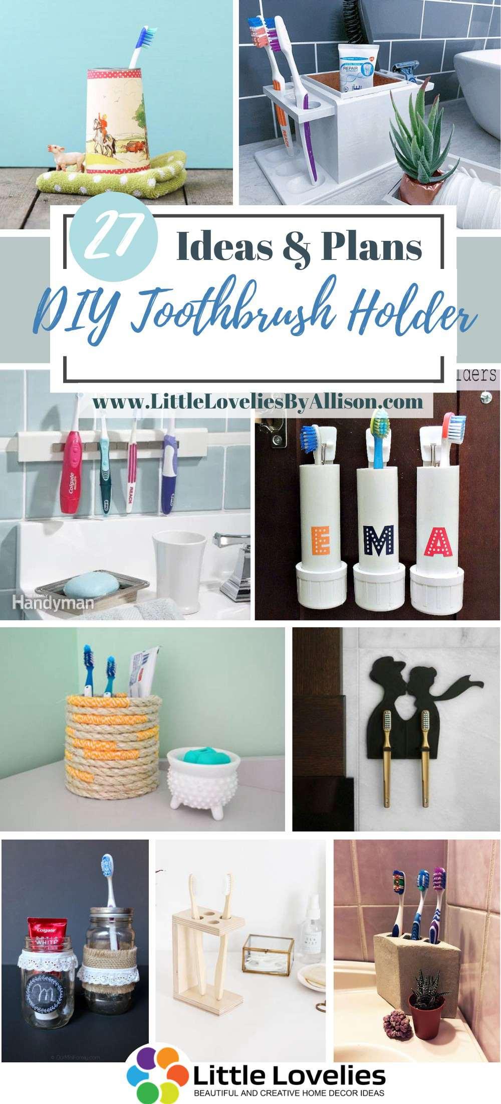 Best DIY Toothbrush Holder