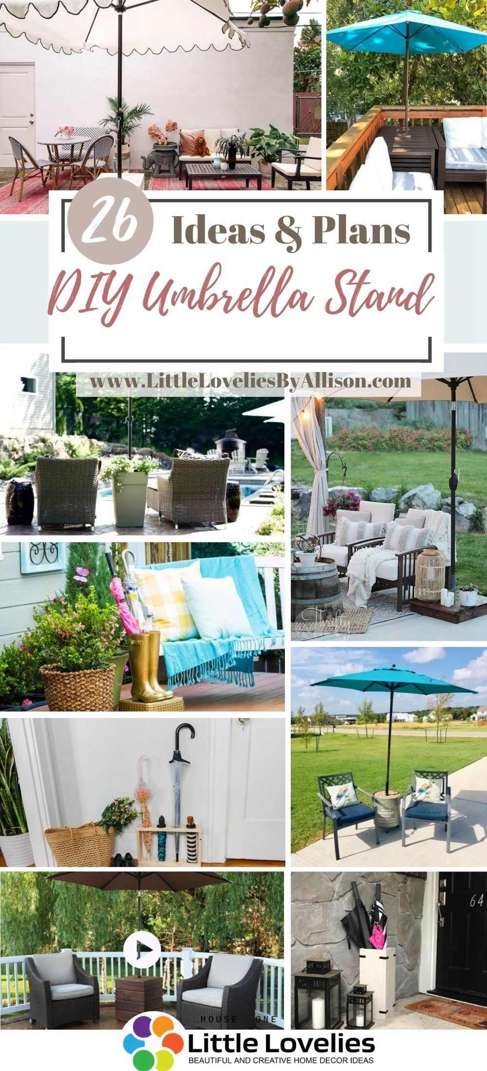 Best DIY Umbrella Stand