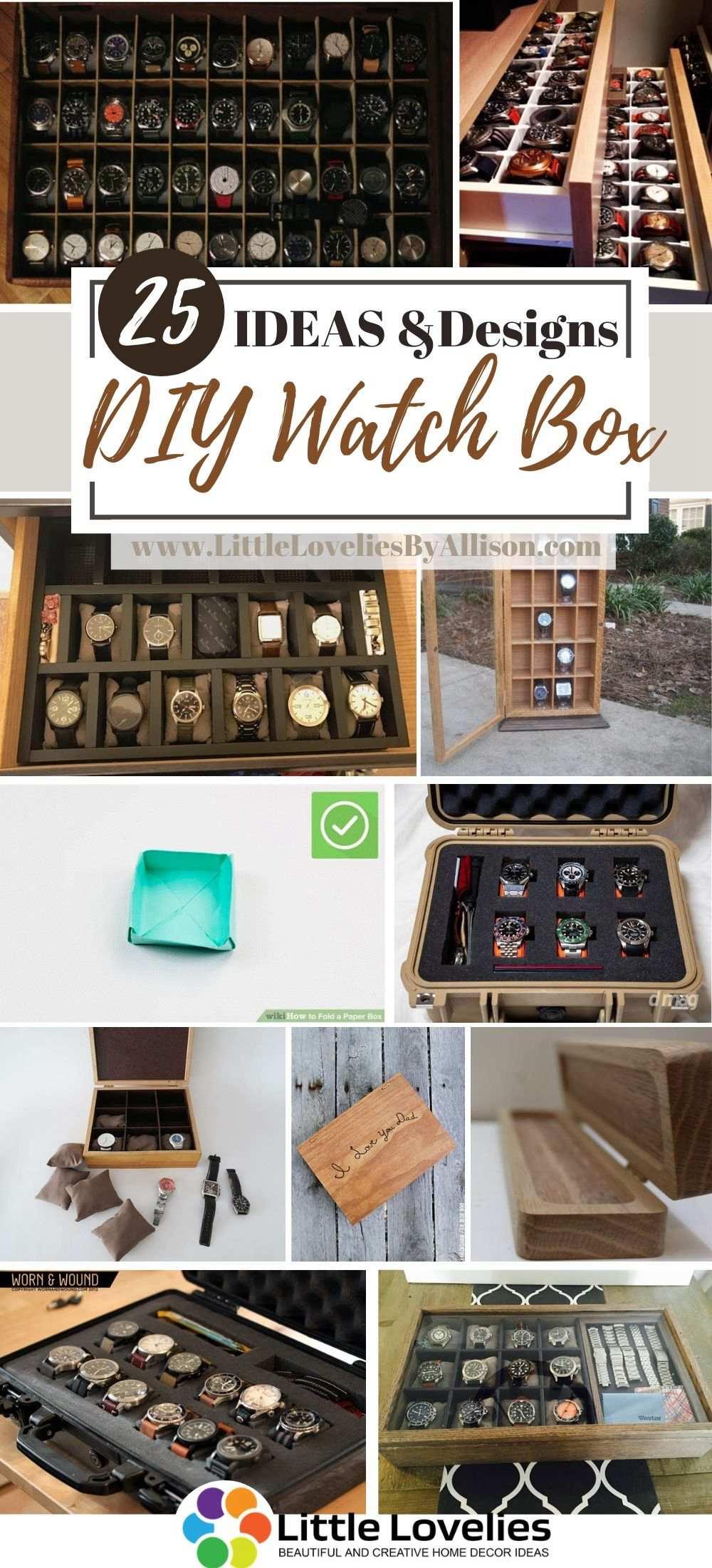 Best-DIY-Watch-Box