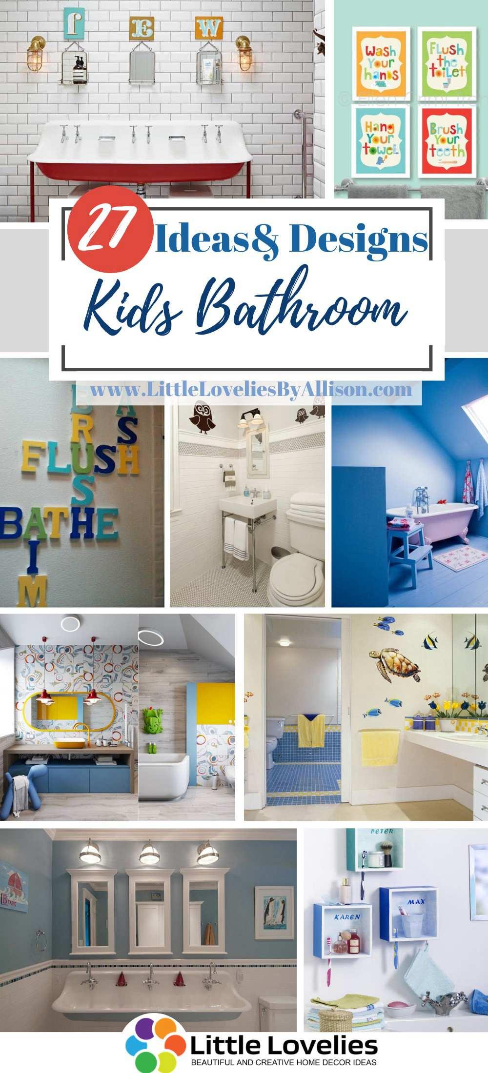 Best Kids Bathroom Ideas