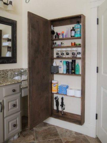 DIY Bathroom Cabinet Projects