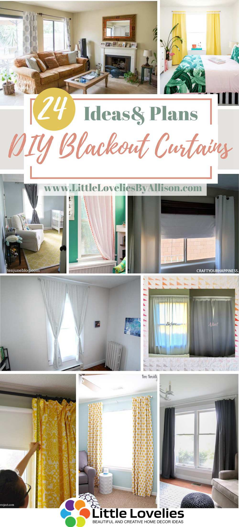 24 Homemade Blackout Curtains Ideas You Can Diy Easily