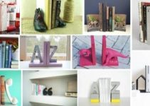 30 DIY Bookends That Will Beautify Your Shelves
