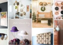 25 DIY Hat Rack Projects That Will Beautify Your Home