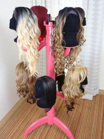 DIY Wig Stand Ideas