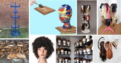 DIY Wig Stand