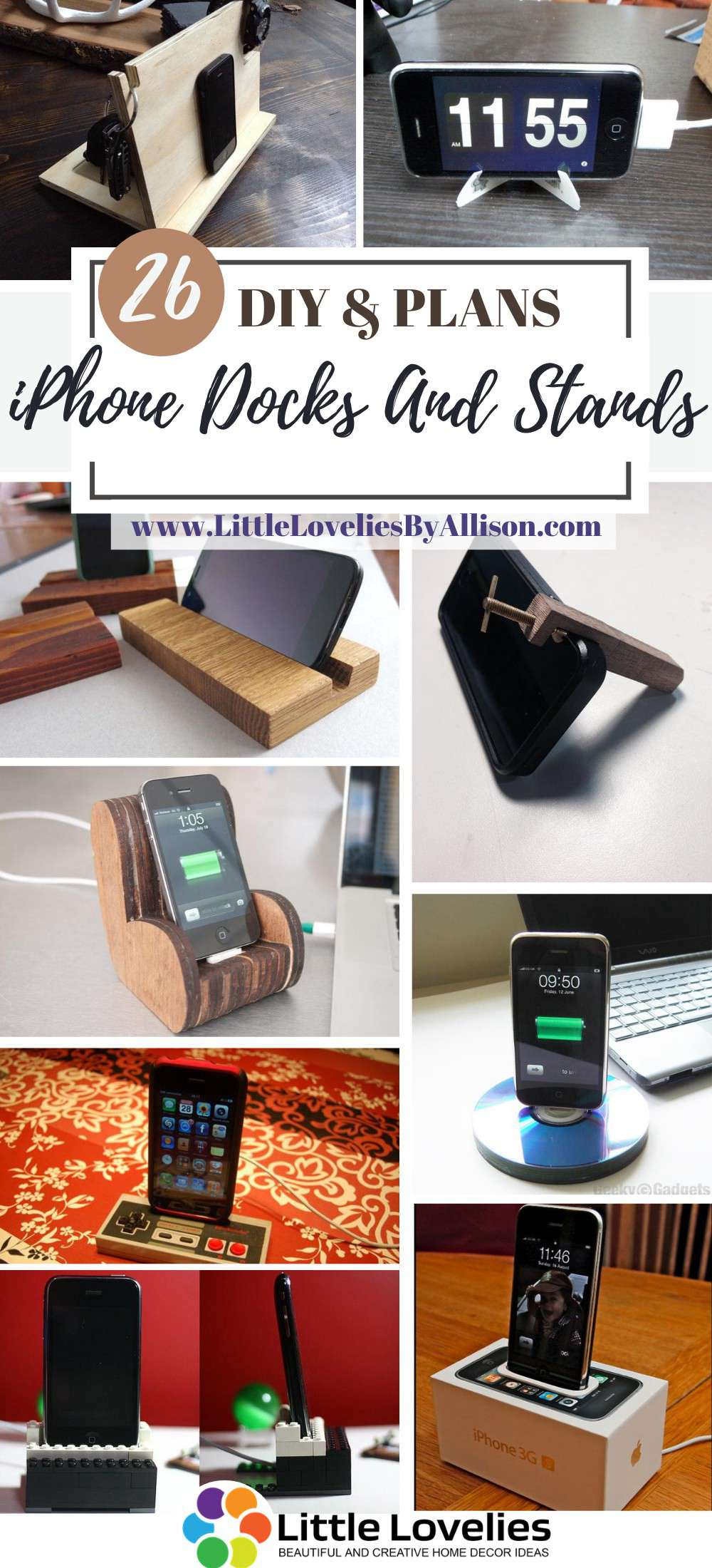DIY-iPhone-Docks-And-Stands