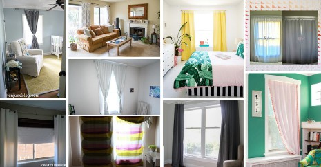 Homemade Blackout Curtains ideas