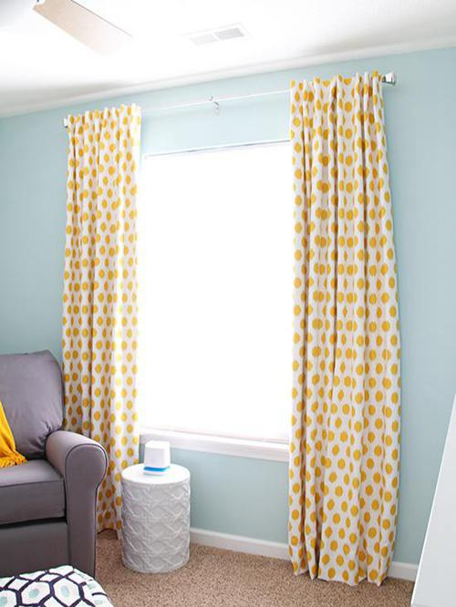 Homemade Blackout Curtains