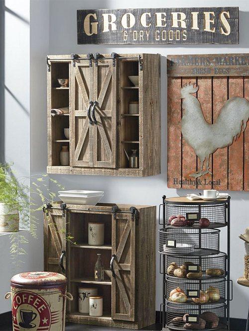 Rustic Kitchen Wall Decor Ideas