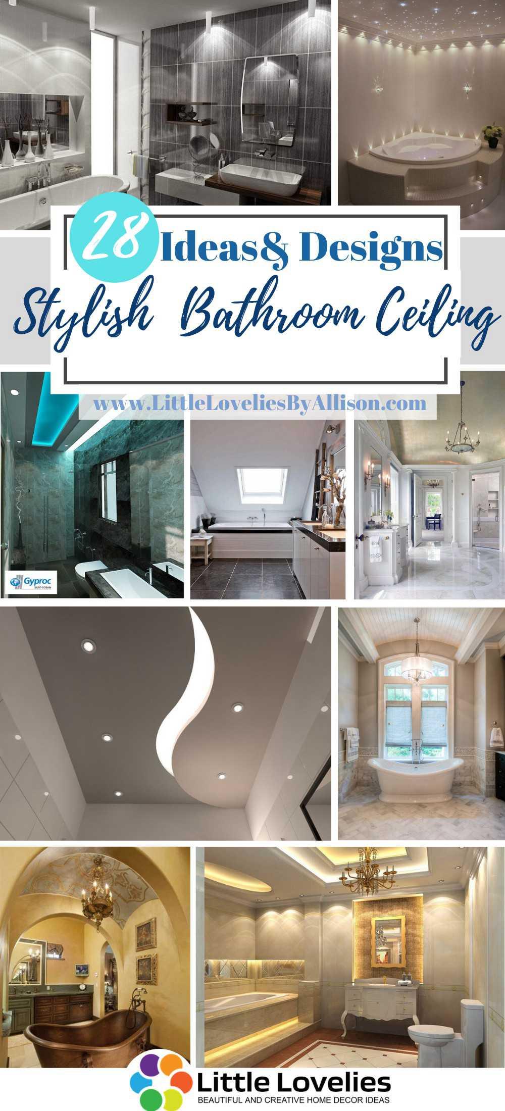 best Stylish Bathroom Ceiling