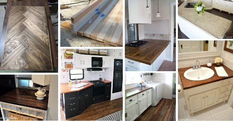 diy-wood-countertop