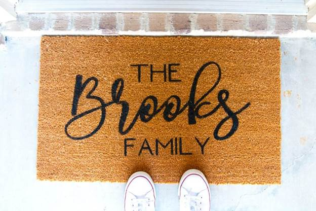 1-Cricut-Doormat-DIY