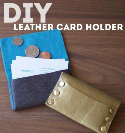 10-DIY-Leather-Business-Card-Holder
