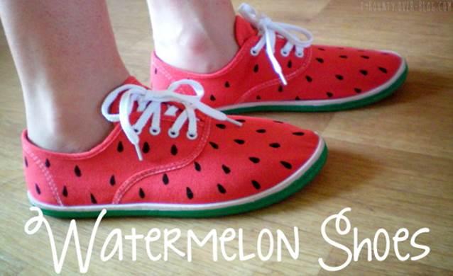 10-DIY-Watermelon-Shoes