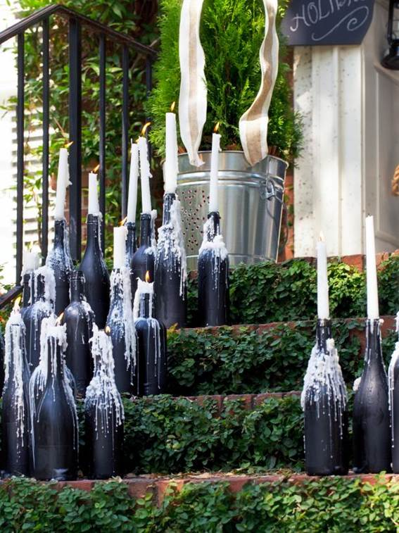 11-How-To-Make-Wine-Bottle-Candelabras