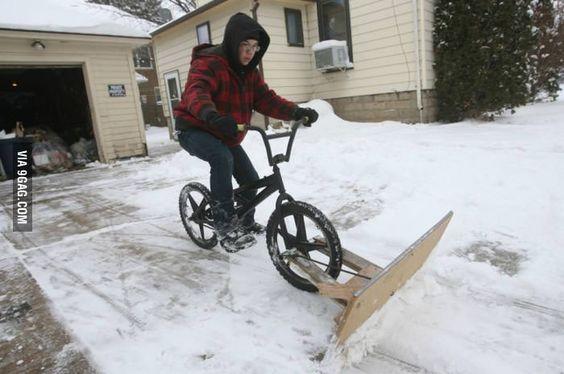 14-Homemade-Snow-Plow-Bike-Idea