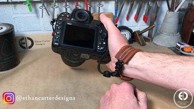 14-How-To-Make-A-Leather-Camera-Wrist-Strap