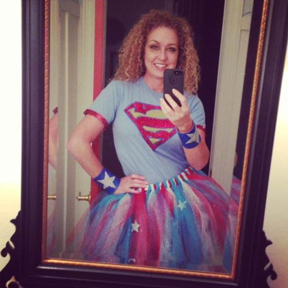 14-Superman-Costume-For-Women-With-Tutu