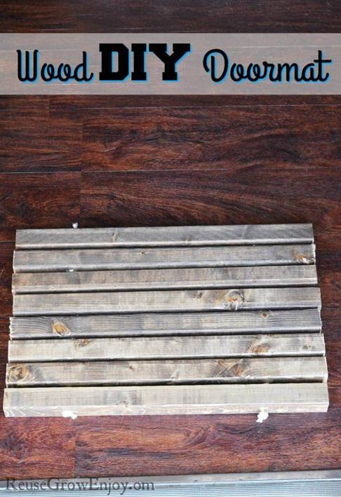 14-Wood-DIY-Doormat