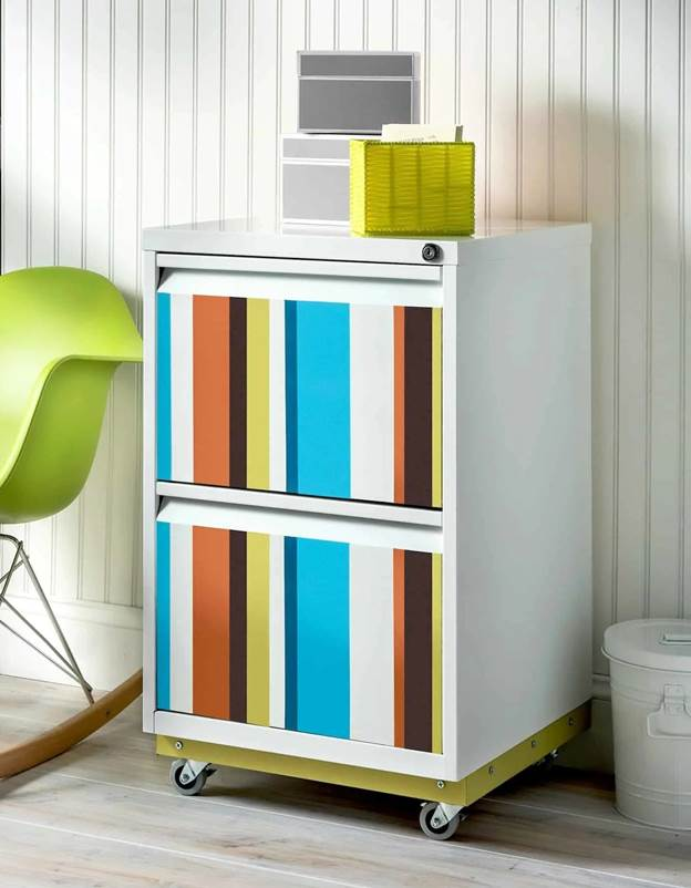 16-Spray-Painted-DIY-File-Cabinet