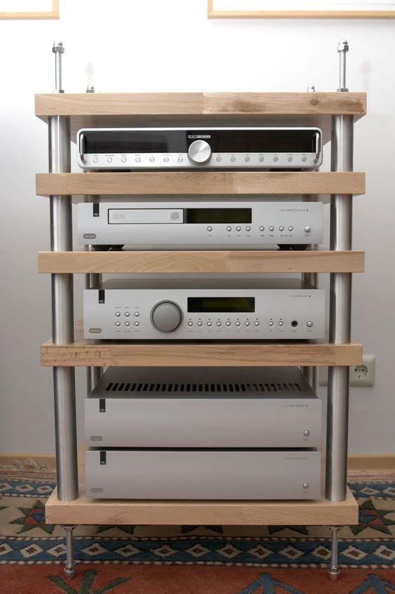 16-Wood-And-Aluminum-Audio-Rack-Idea
