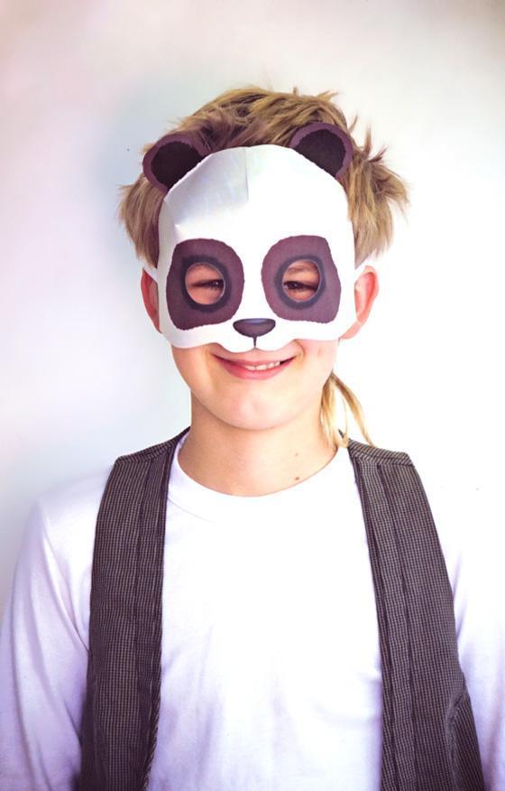 19-DIY-Print-Paper-Panda-Mask