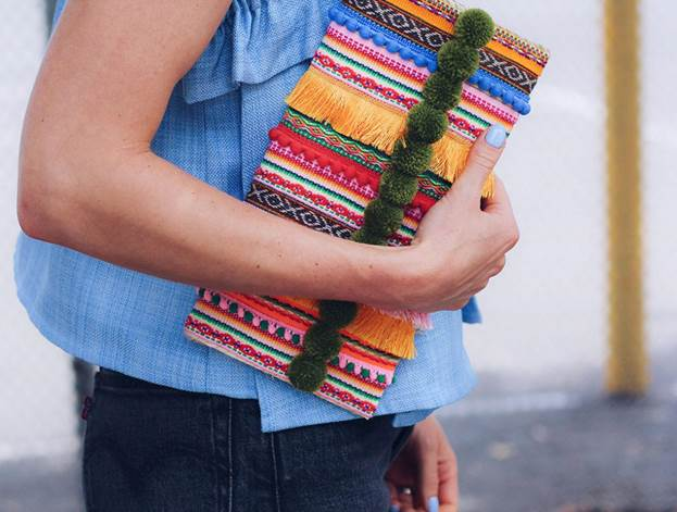 21-DIY-Straw-Clutch