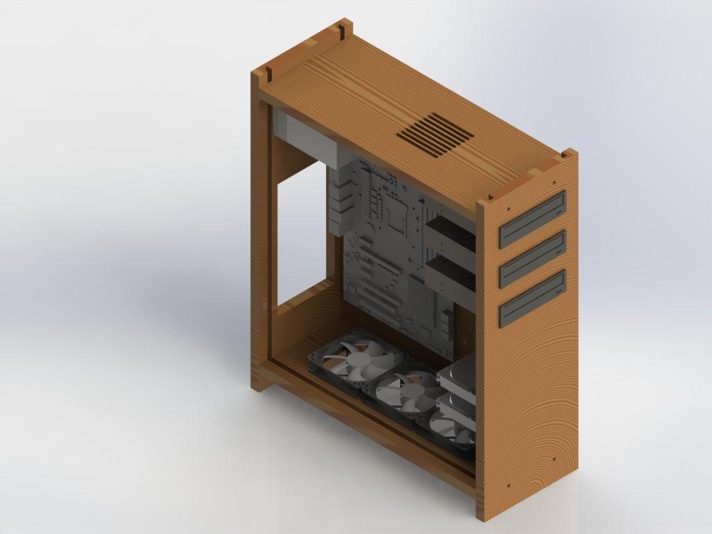22-DIY-Wooden-Computer-Case