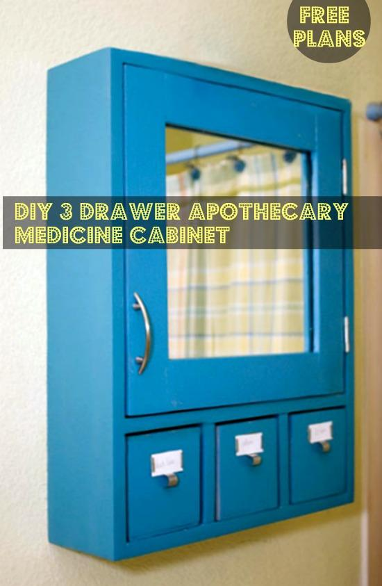 23-DIY-3-Drawer-Medicine-Cabinet