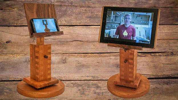 23-DIY-Adjustable-Tablet-Stand