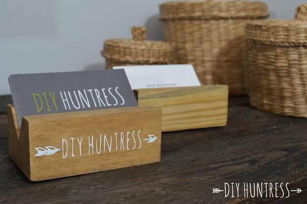 4-DIY-Wooden-Business-Card-Holder