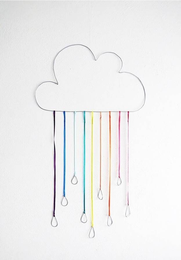 5-How-To-Make-A-Rainbow-Cloud-Using-Ribbon