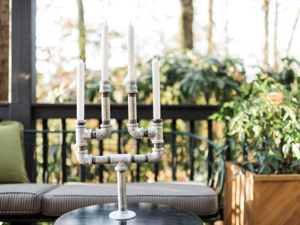 6-How-To-Make-A-Candelabra-From-Plumbing-Pipes