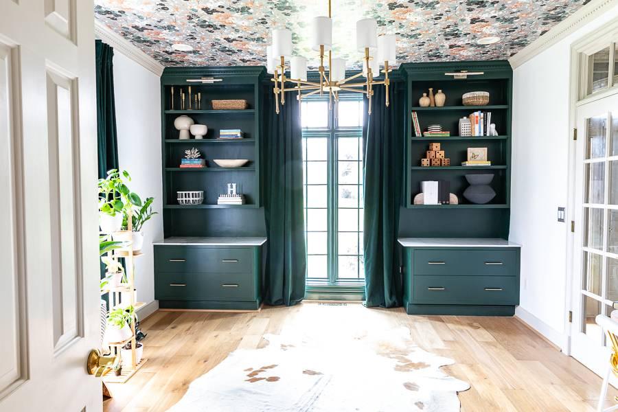 8-DIY-Built-in-Cabinet