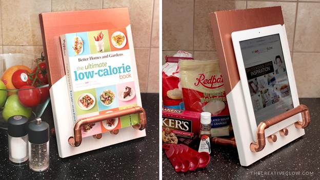9-Cookbook-And-Tablet-Stand-DIY