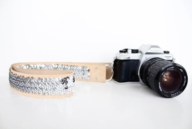 9-DIY-No-Sew-Sequin-Camera-Strap