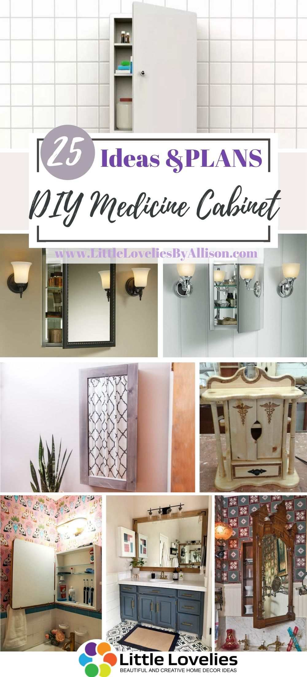 25 Diy Medicine Cabinet How To Make A Medicine Storage